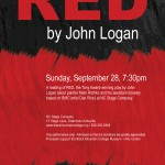 Play Reading: RED by John Logan