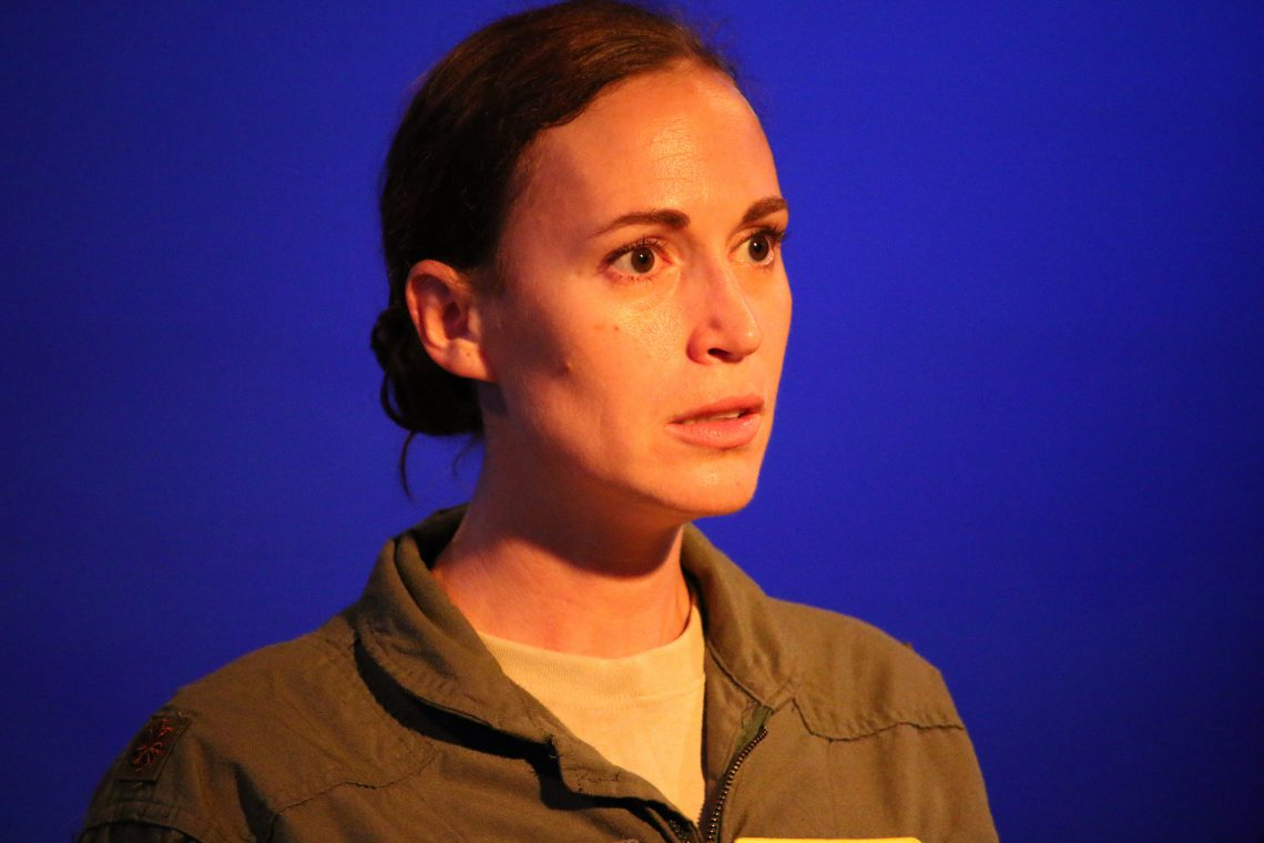 Grounded by George Brant - Blythe Coons at NC Stage