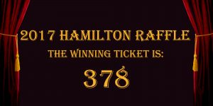 2017 Hamilton Raffle Winner