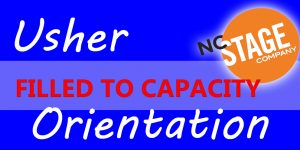 Usher Orientation