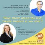 Teaching Artist Spotlight:  Chris Allison & Neela Muñoz