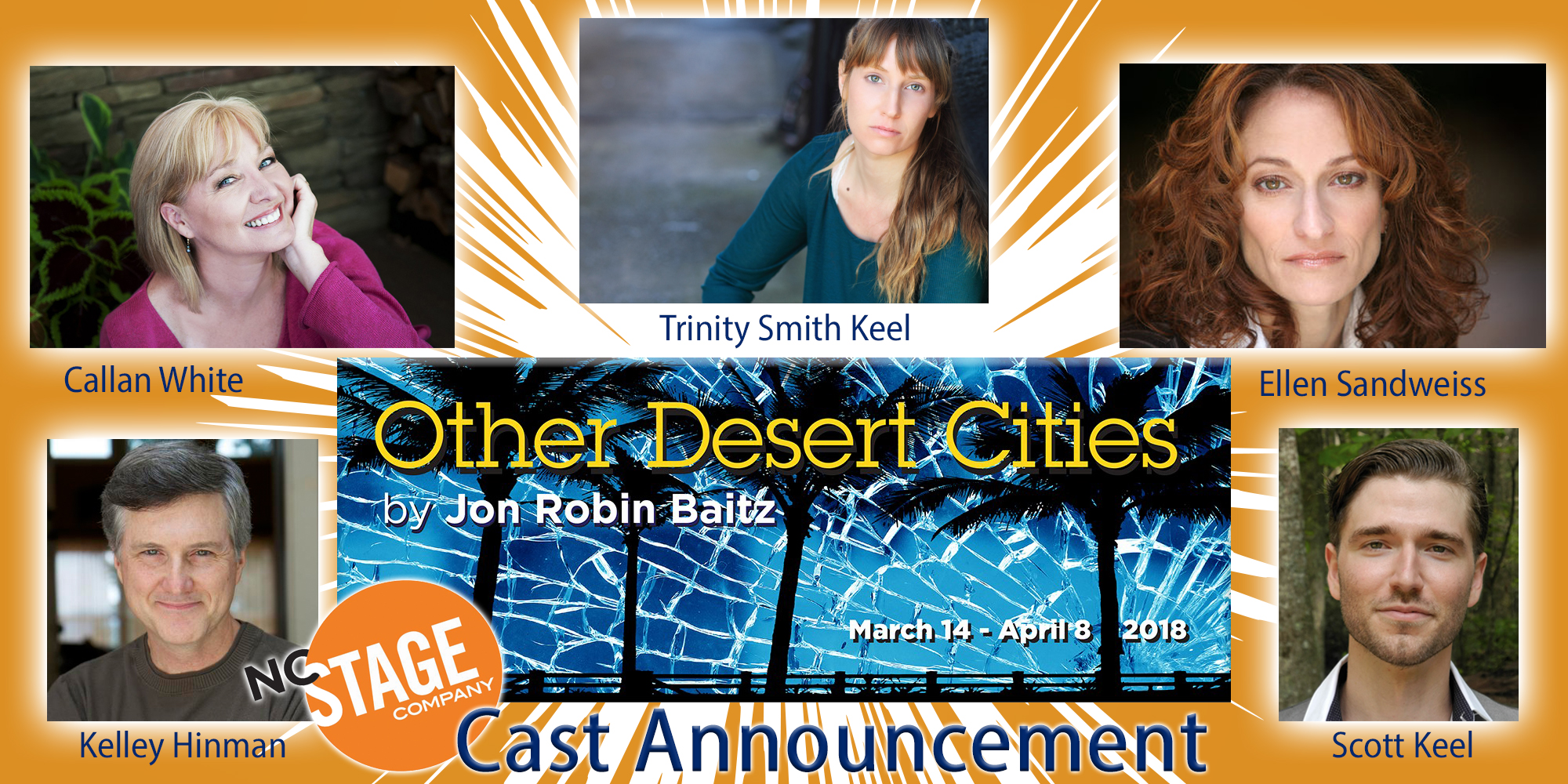 Cast announcement other desert cities nc stage company thecheapjerseys Image collections