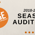 2018-2019 Season Auditions