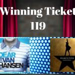 DEAR EVAN HANSEN & HAMILTON RAFFLE WINNER!