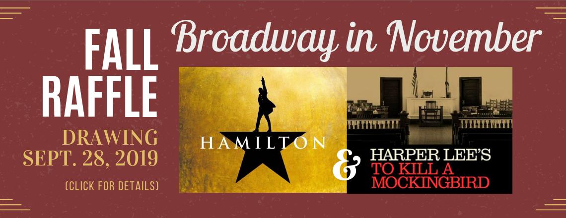 Win a Trip to see TO KILL A MOCKINGBIRD & HAMILTON!