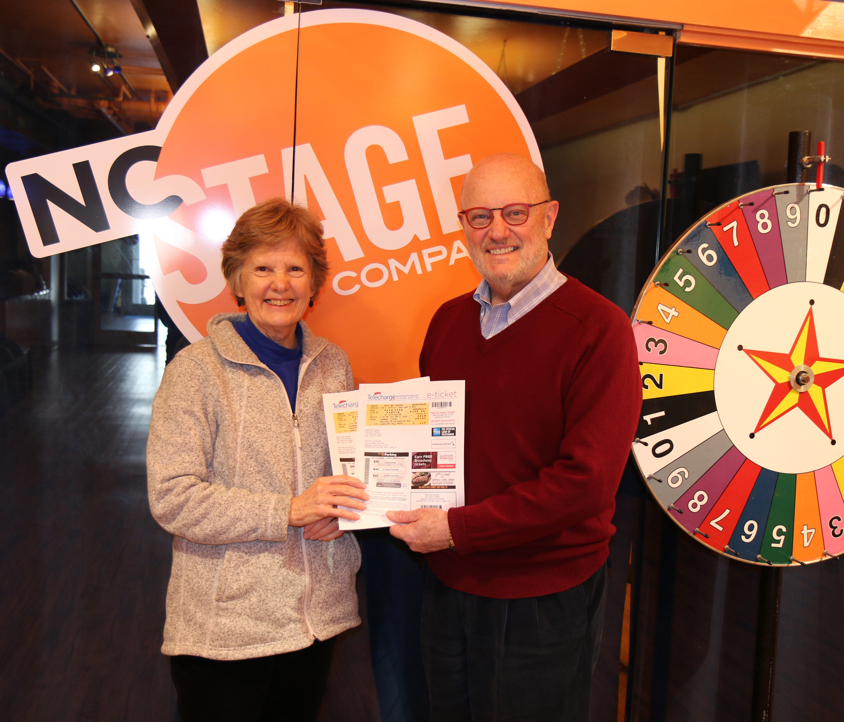 CONGRATULATIONS to our raffle winners: Scottie & Tom Cannon, in Black Mountain, NC!